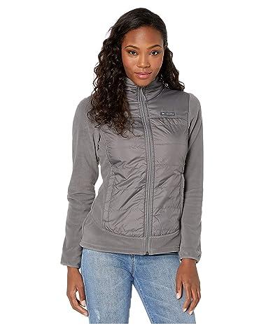 Columbia Basin Buttetm Fleece Full Zip (City Grey) Women