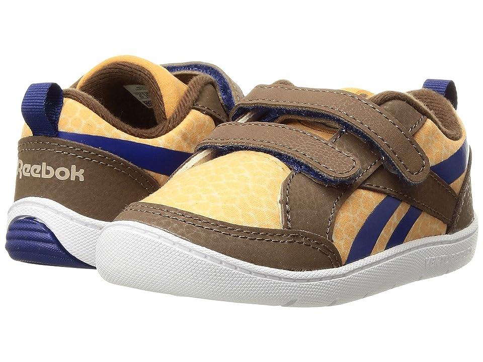 Reebok Kids Ventureflex Critter Feet (Toddler) (Dark Brown/Oatmeal/Rich Camel/Cobalt) Boys Shoes