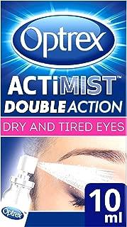 Optrex ActiMist 2in1 Eye Spray for Dry + Irritated Eyes 0.34oz (10ml)