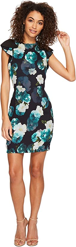 Adelyn Rae - Jasmine Ruffle Sheath Dress