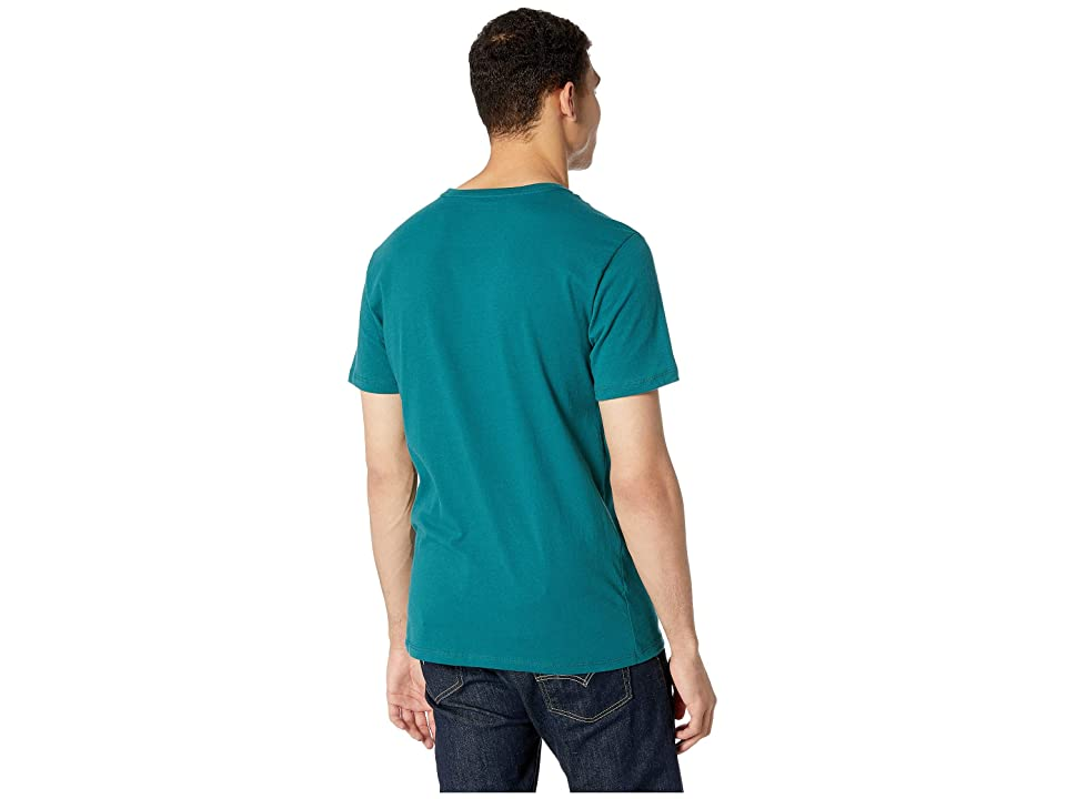 Richer Poorer Crew Pocket Tee (Green) Men's T Shirt