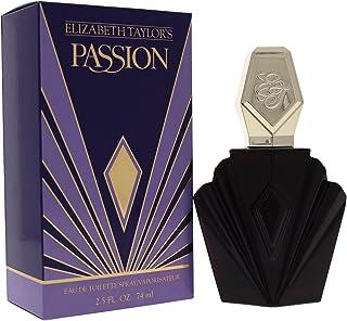Elizabeth Taylor Passion 74ml Eau De Toilette, 0.5 Kilograms