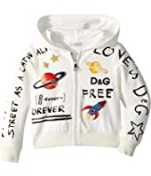 Dolce & Gabbana Kids - Hooded Cardigan (Toddler/Little Kids)
