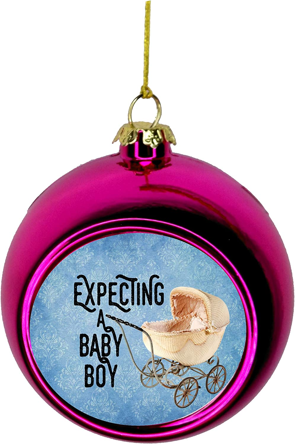 Expecting Albuquerque Mall Ranking TOP2 Baby Christmas Ornament - Parents