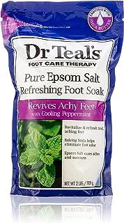 Dr. Teal's Epsom Foot Soak Cooling Peppermint, 90g