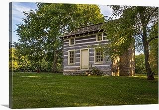 rustic cabin art