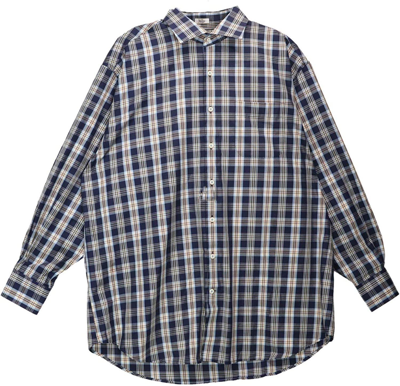 PETER MILLAR Men's Pat Cotton Dress Shirt - 44-17.5 (XL)