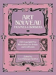 Best art nouveau borders and frames Reviews