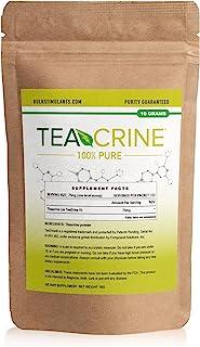 TEACRINE | Theacrine 100% Pure Bulk Powder | 133 Servings | New Nootropic Stimulant for Energy Endurance & ...