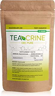 TEACRINE | Theacrine 100% Pure Bulk Powder | 133 Servings | New Nootropic Stimulant for Energy Endurance & Focus
