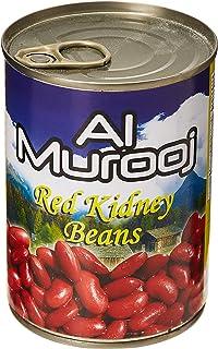 Al Murooj Red Kidney Beans EC, 400 gm (Pack of 1)