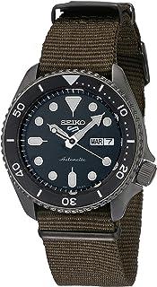 Seiko SRPD65K4 Reloj Seiko 5 Automatico Caballero Resistente al Agua 100 metros for Hombre, Verde, Hombre Estándar