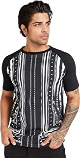 Iconic Men's 2300531 STING Cotton T-Shirt, Black