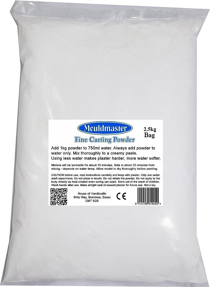 Mouldmaster 2.5 Kg Plaster of Paris, White