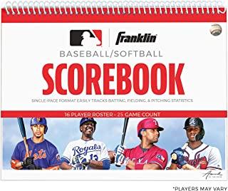 Franklin Sports MLB Baseball / Scorebook Scorebook