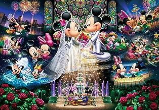1000 Piece Jigsaw Puzzle Stained Art Disney Eternal Oath - Wedding Dream ~ (51.2 x 73.7 cm)