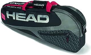 HEAD Elite 3R Pro - Bolsa para Tenis, Color Negro/Rojo