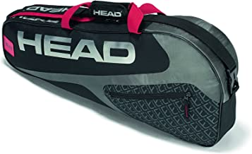 HEAD Elite 3R Pro Tennis Racquet Bag - 3 Racket Tennis Equipment Duffle Bag