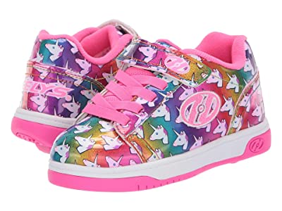 Heelys Dual Up x2 (Little Kid/Big Kid) (Rainbow/Unicorn) Girls Shoes