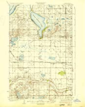 YellowMaps Hamar ND topo map, 1:62500 Scale, 15 X 15 Minute, Historical, 1930, 20 x 15.9 in