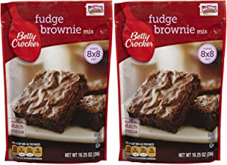 Betty Crocker Fudge Brownie Mix - 10.25 oz - 2 pk