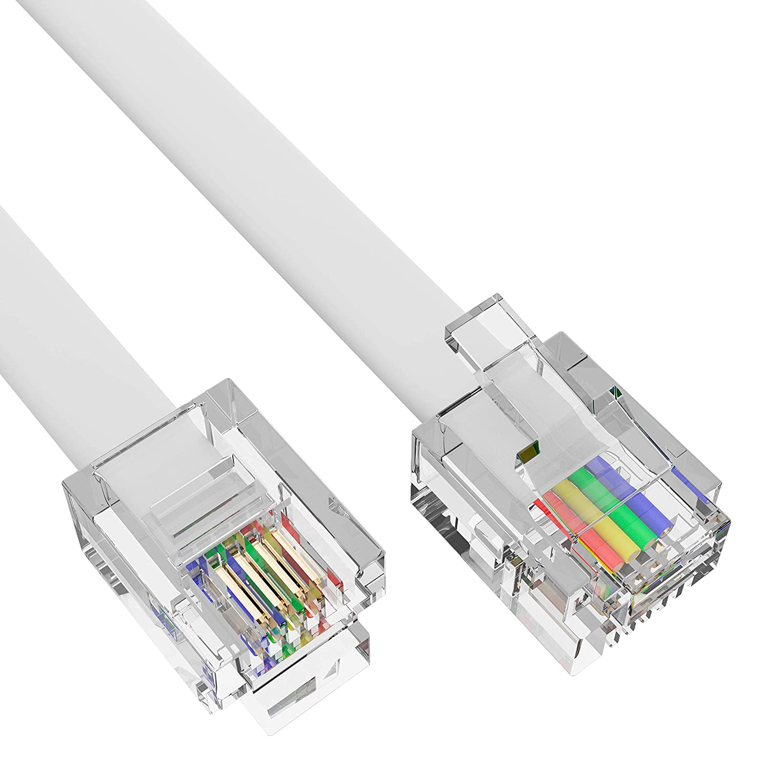 WiFi Router G-PLUG RJ11 to RJ11 2m Cable Easy to Fit in Phone ...