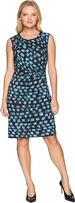 Petite Vivid Twist Dress