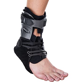 DonJoy Velocity ES (Extra Support) Ankle Brace: Standard Calf, Right Foot, Small