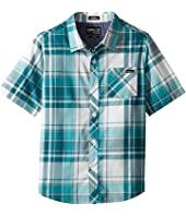 O'Neill Kids - O'Neill Plaid Short Sleeve Shirt (Toddler/Little Kids)