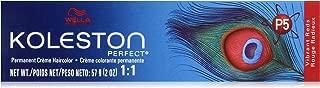 Wella Koleston Perfect Permanent Creme Hair Color, 77/44 Intense Medium Blonde/Red, 2 Ounce