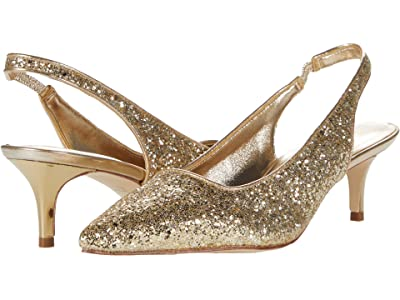 Lilly Pulitzer Shaina Slingback Heel (Gold Metallic) Women