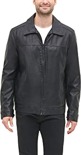 Tommy Hilfiger Men's Classic Faux Leather Jacket