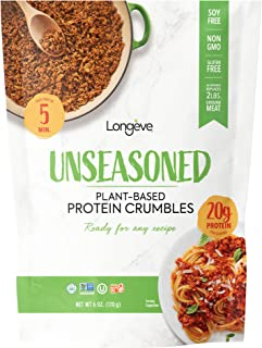 Plant-based Protein Crumbles - Unseasoned (6-oz.)