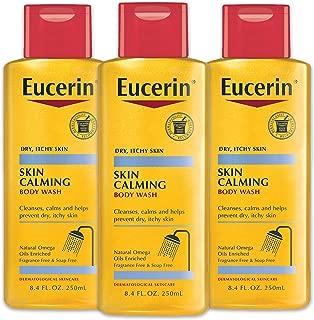 Eucerin 干性皮肤沐浴露 8.4盎司(250ml) 3件