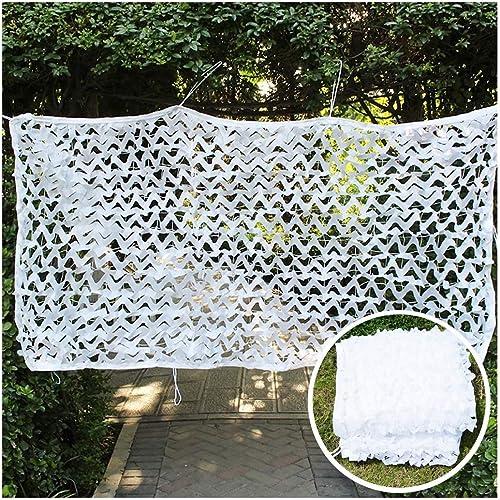 ZHhome 2 X 3 M De Tente Extérieure en Tissu Renforcé De Filet De Camouflage Blanc, Adapté à La Décoration De Jardin, Chasse Militaire pour Enfants Cachés ( Taille   810M(26.232.8ft) )