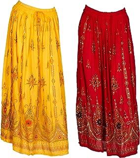 Best indian maxi skirt Reviews