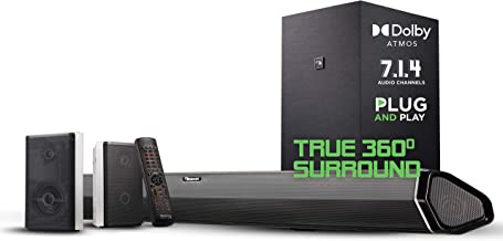 "Best Nakamichi Shockwafe Pro 7.1.4 Channel 600W Dolby Atmos Soundbar with 8"" Wireless Subwoofer, 2 Rear Surround Speakers. Experience True 360° Cinema Surround with This Plug and Play Home Theater System Review"