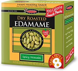 Spicy Wasabi Dry Roasted Edamame 6.32 Ounces (Case of 12)