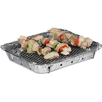 Barbecue Jetable Rayen (30,5 x 23,7 cm) Cuisiner en