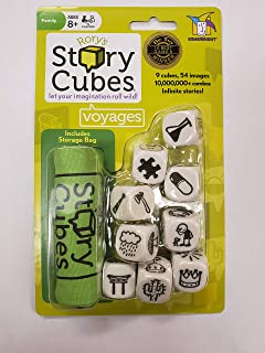 Storytelling Cubes 2-Pack, Fun Pack, Fantasia, Voyages