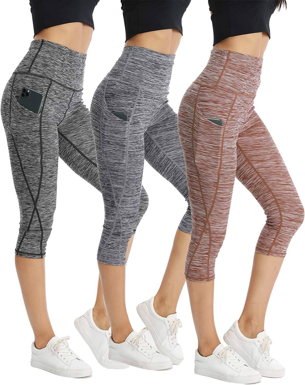 CongYee 25% OFF Sport Women's Yoga Capris W Pants for Today's only Control Tummy