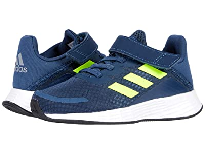 adidas Kids Duramo SL (Little Kid) (Crew Navy/Solar Yellow/Halo Silver) Kid
