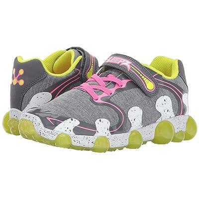 Stride Rite Leepz 2.0 (Toddler/Little Kid) (Grey/Pink) Girls Shoes