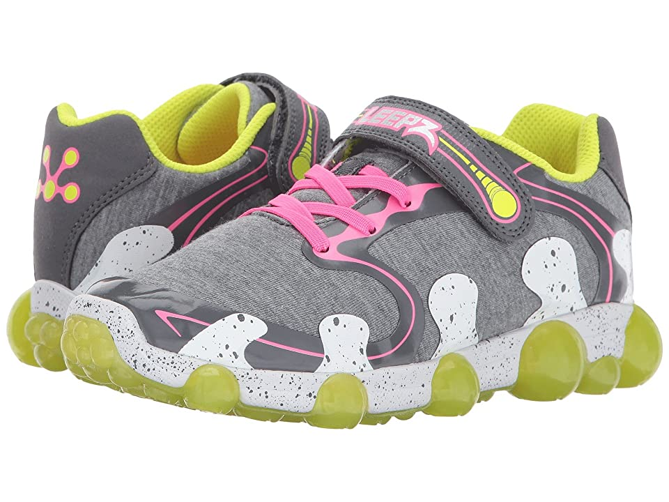 Stride Rite Leepz 2.0 (Toddler/Little Kid) (Grey/Pink) Girls Shoes