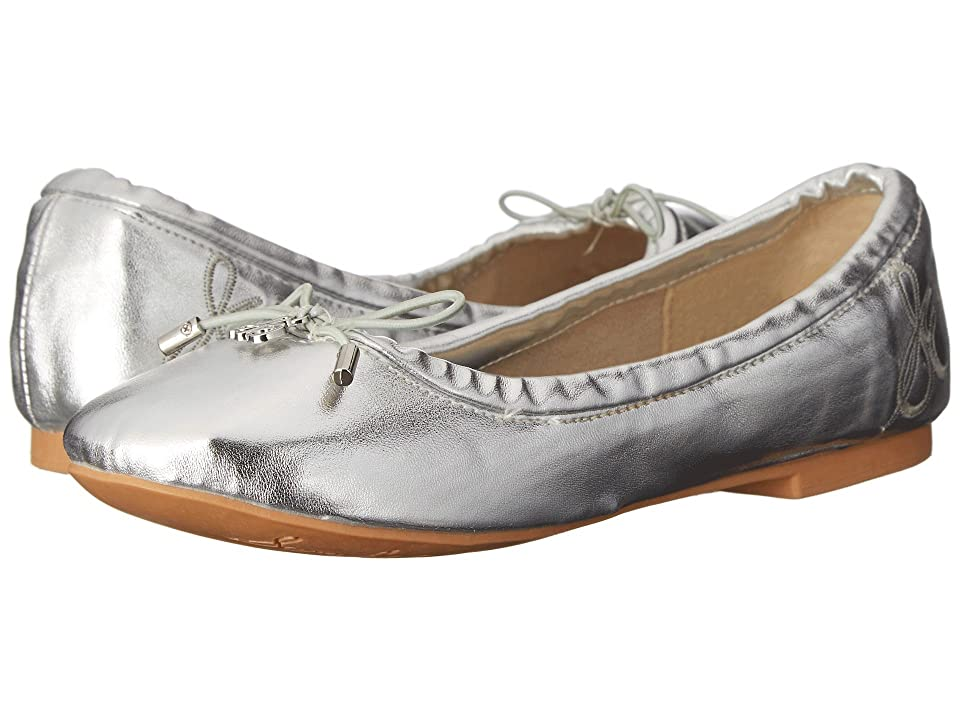 Sam Edelman Kids Felicia Ballet (Little Kid/Big Kid) (Silver Metallic) Girls Shoes