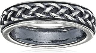 خاتم سلتيك ملتوي من الفضة الاسترلينية
