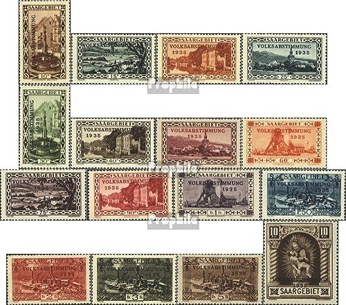 comprar barato Prophila Collection Saar 179-194 (completa.edición.) 1934 plebiscito 1935 (sellos para para para los coleccionistas)  directo de fábrica
