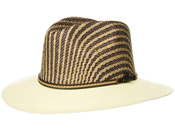 Ariat Two-Tone Crown Fedora