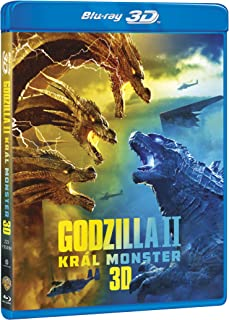Godzilla II Kral monster 2BD (3D+2D) / Godzilla: King of the Monsters (czech version)