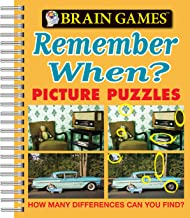 Brain Games – Picture Puzzles: Remember When? – How Many Differences Can You Find?